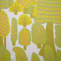 marimekko/マリメッコ ファブリック Metsanvaki/ライトグリーン 143×65(1)