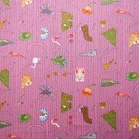 marimekko/マリメッコ ファブリック Afrikan Kuningatar/ピンク 116×69/切売り