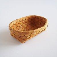 白樺のカゴ/楕円のパンかご M