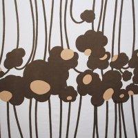 marimekko/マリメッコ ヴィンテージファブリック Puro/ブラウン 126×115