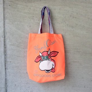 YOUNG & OLSEN The DRYGOODS STORE | Y&O SHOPPING TOTE BF(ORANGE)