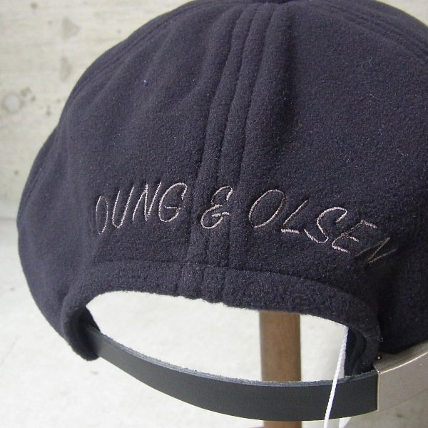 YOUNG & OLSEN The DRYGOODS STORE | JIMMY THE CAT POLAR CAP(BLACK)