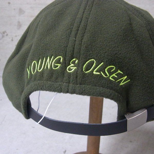 YOUNG & OLSEN The DRYGOODS STORE | JIMMY THE CAT POLAR CAP(OLIVE)