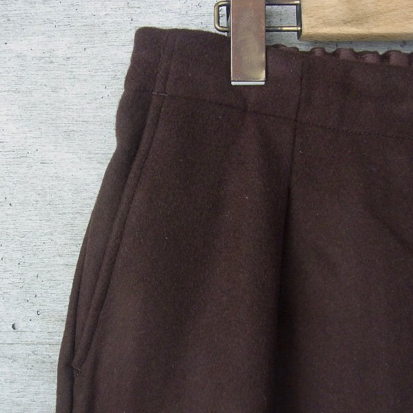 comm.arch. | Geelong Lamb's Easy Trousers(Burnt Nut)