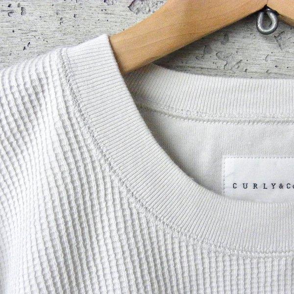 CURLY | CLOUDY L/S TEE(OFF WHITE)