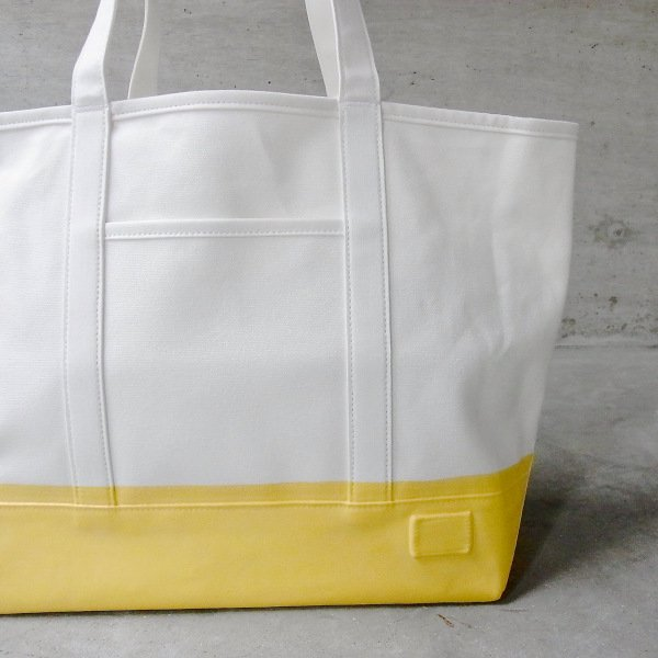 DIGAWEL | VINYL TOTE BAG 12Inc(WHITE)