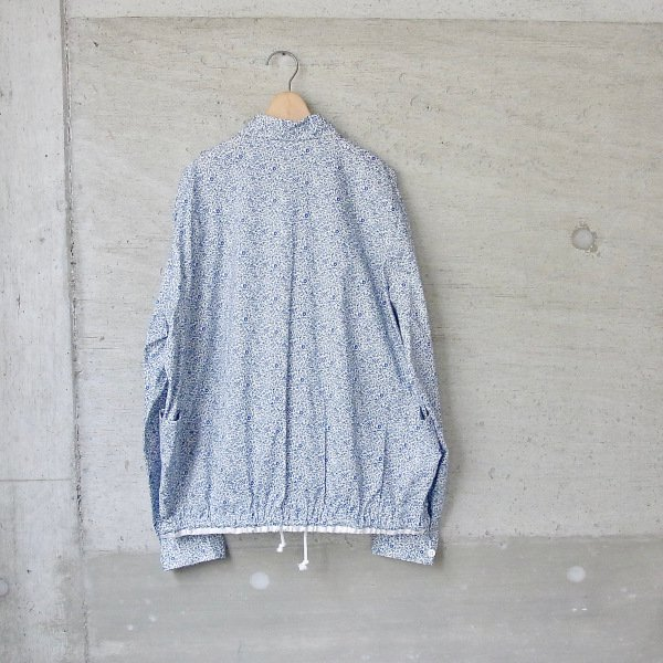 DIGAWEL | SHIRT BLOUSON / fabric by LIBERTY(BLUE)