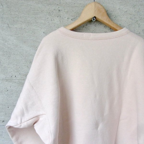 YOUNG & OLSEN The DRYGOODS STORE | LOOP WHEELED FRONT V SWEAT(PEACH)