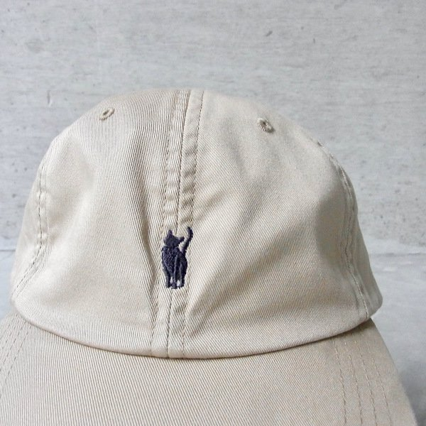 YOUNG & OLSEN The DRYGOODS STORE   JIMMY THE CAT FROST CAP(FROSTY BEIGE)