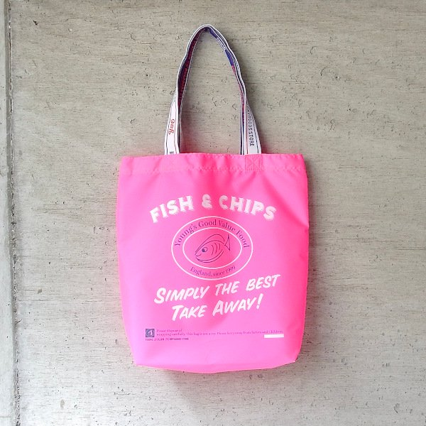 YOUNG & OLSEN The DRYGOODS STORE | Y&O SHOPPING TOTE FC(PINK)