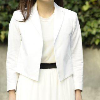 スペンサージャケット -white-
