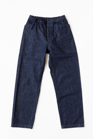 Denim Easy Pants