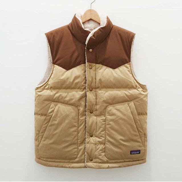 Men'sReversible Bivy Down Vest