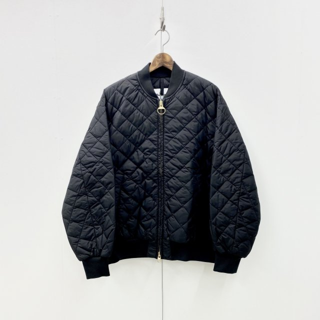 QUILTED BOMBER JACKET OS NYL