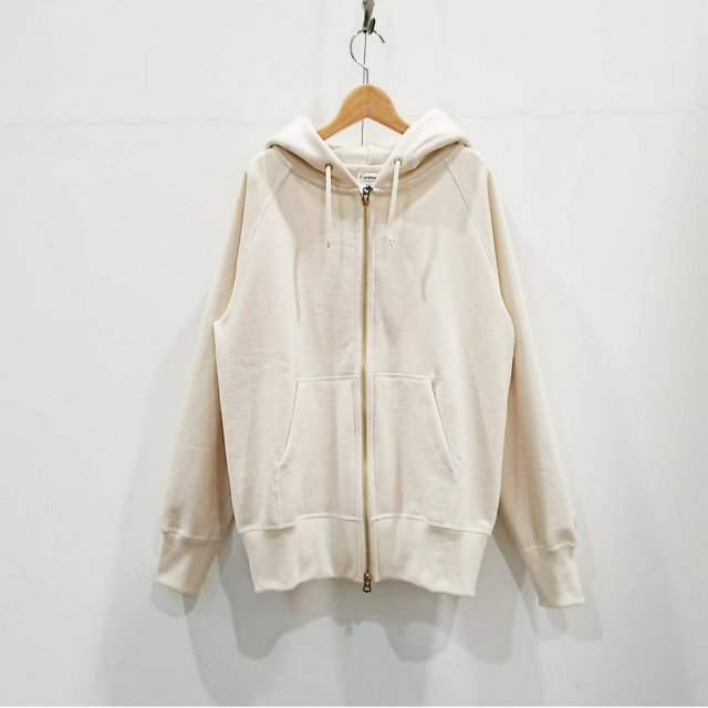 FRENCH TERRY ZIP PARKA