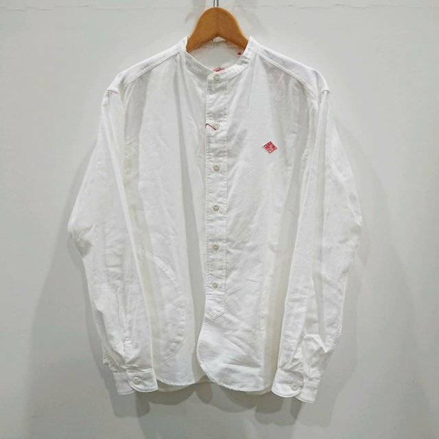 <img class='new_mark_img1' src='https://img.shop-pro.jp/img/new/icons61.gif' style='border:none;display:inline;margin:0px;padding:0px;width:auto;' />BAND COLLAR SHIRT