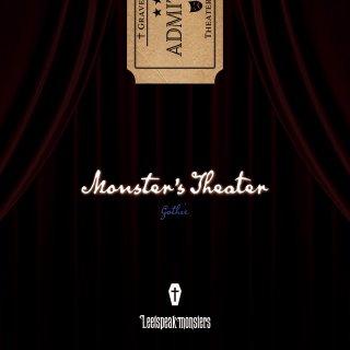 1st FULL ALBUM『Monster's Theater』ゴシック盤
