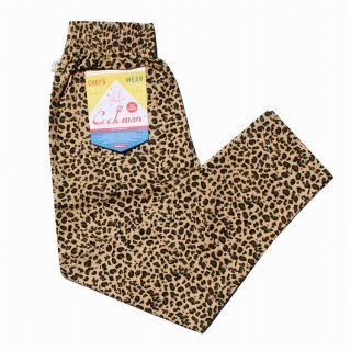 <img class='new_mark_img1' src='https://img.shop-pro.jp/img/new/icons14.gif' style='border:none;display:inline;margin:0px;padding:0px;width:auto;' />Cookman クックマン Chef Pants 「Leopard」