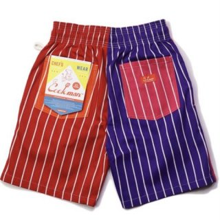 <img class='new_mark_img1' src='https://img.shop-pro.jp/img/new/icons14.gif' style='border:none;display:inline;margin:0px;padding:0px;width:auto;' />Cookman クックマン Chef Pants Short Crazy Pattern Hot