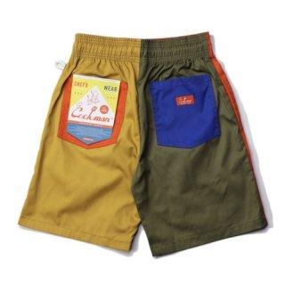<img class='new_mark_img1' src='https://img.shop-pro.jp/img/new/icons14.gif' style='border:none;display:inline;margin:0px;padding:0px;width:auto;' />Cookman クックマン Chef Pants Short Crazy Pattern Party