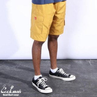 <img class='new_mark_img1' src='https://img.shop-pro.jp/img/new/icons14.gif' style='border:none;display:inline;margin:0px;padding:0px;width:auto;' />Cookman クックマン Chef Pants Short Cargo Mustard