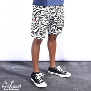 <img class='new_mark_img1' src='https://img.shop-pro.jp/img/new/icons14.gif' style='border:none;display:inline;margin:0px;padding:0px;width:auto;' />Cookman クックマン Chef Pants Short Cargo Zebra