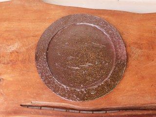 備前焼 皿(約25.5cm)