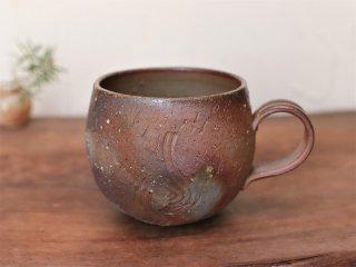 備前焼 コーヒーカップ (丸)