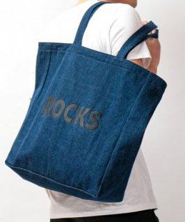 【MISERICORDIA/ミゼリコルディア】 'ROCKS×MISERICORDIA'オリジナル限定トートバック/BLACK