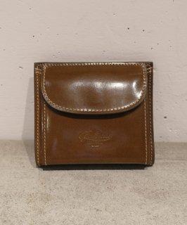 【BOLDRINI SELLERIA】二つ折り財布(ブラウン)