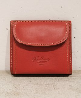 【BOLDRINI SELLERIA】二つ折り財布(レッド)