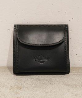 【BOLDRINI SELLERIA】二つ折り財布(ブラック)