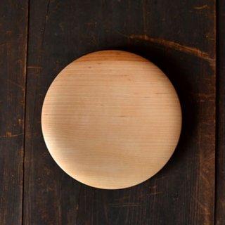 後藤睦 パン木皿 6寸 18cm