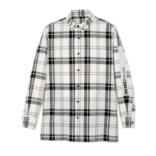 BEAD EMBROIDERY  CHECK SHIRTS