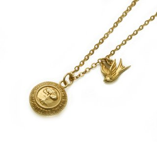 BECOME TREE MEDAL×SWALLOW PENDANT