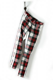 ORIGINAL FLANNEL CHECK PANTS INSEAM STRECH PANTS
