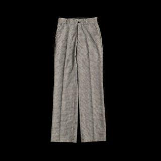 <SALE>CENTER PRESS CHECK PANTS