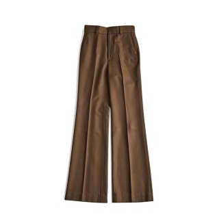 <SALE>HIGH WAIST FLARED PANTS