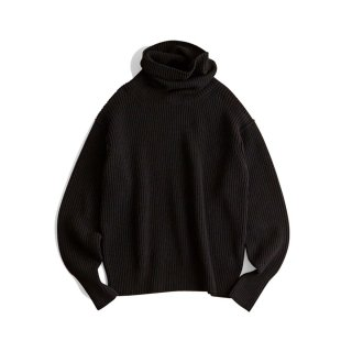 <SALE>HIGH NECK PULLOVER