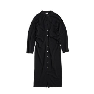 INLAY CARDIGAN DRESS
