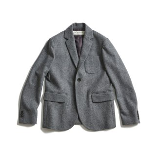 FLANNEL TAILORED JACKET