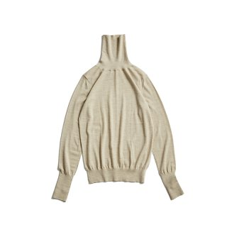WOOL HIGH NECK PULLOVER