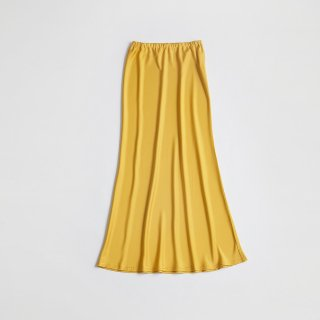 MERMAID LINE SATIN SKIRT