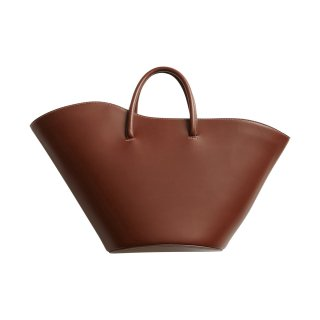 LITTLE LIFFNER OPEN TULIP TOTE CALF