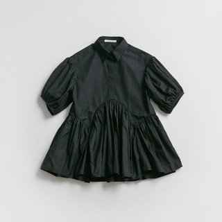 <SALE>Cecilie Bahnsen BLOUSE WITH PUFF SLEEVE