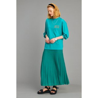 PLEATS KNIT SKIRT