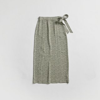 ARABESQUE WRAP SKIRT