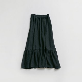 <WEB先行予約>JACQUARD FLOWER SKIRT