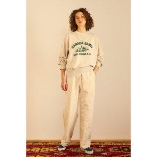 LEAF JACQUARD PANTS
