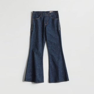 MEYAME SIDE ZIP FLARE JEAN